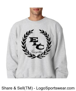 Champion Super Heavyweight Reverse Weave Crew Neck Sweatshirt Design Zoom